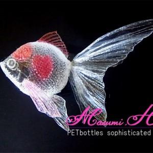 ハート金魚